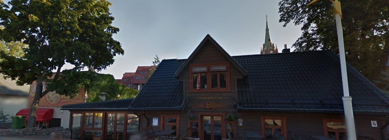 Renovavome Palangoje kavine/apartamentai stogą.