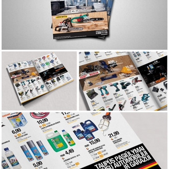 Senukų prekybos centro katalogo dizainas