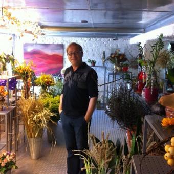 Floristas  Sigitas Kaminskas ir vėl Klaipėdoje,savam salone :)
