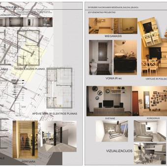 Interjero dizainerė / Eglė Saltonaitė / Darbų pavyzdys ID 779