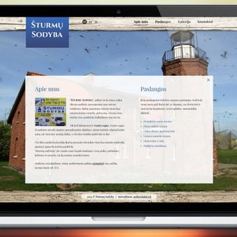 http://www.sturmusodyba.lt/ Šturmų Sodybos svetainės atnaujinimas.