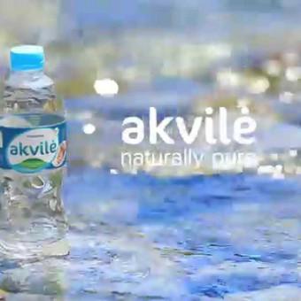 Mineralinis vanduo Akvilė | presentation clip
