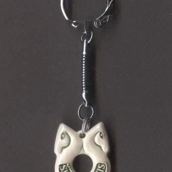 Molinis raktų pakabukas