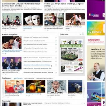 """""""Diena.lt"""" portalų grupės įvaizdžio internete sukūrimas. Patirtis dirbant su dideliu informacijos kiekiu ir teisingu jos pateikimu vartotojui.  Daugiau darbų  → http://www.andriusdesigner.com/"""