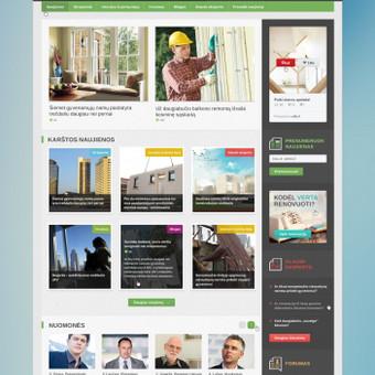 """""""Renovacija.lt"""" → informacinis portalas, sukurtas siekiant skatinti tinkamą ir kokybišką būstų modernizaciją.  Naujienų portalui atlikti šie darbai ir sukurti moduliai: Asociacijos logot ..."""