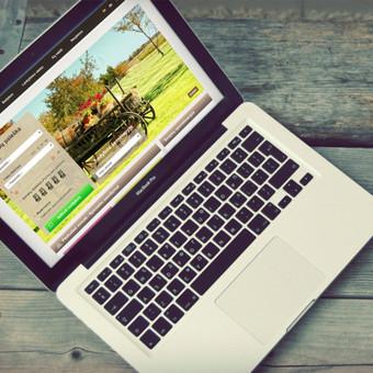 Sukurta unikali Kaimo Turizmo platforma Lietuvoje. Atostogos kaime sistema vienija per 400 sodybų užsiimančių kaimo turizmo veikla.  Daugiau darbų  → http://www.andriusdesigner.com/