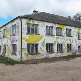 Grafika ir piešiniai ant sienų / Tadas Šimkus / Darbų pavyzdys ID 13783