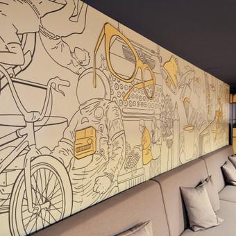 Grafika ir piešiniai ant sienų / Tadas Šimkus / Darbų pavyzdys ID 13800
