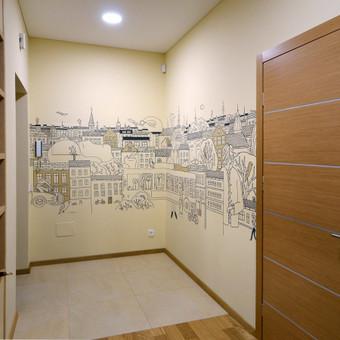Grafika ir piešiniai ant sienų / Tadas Šimkus / Darbų pavyzdys ID 13802