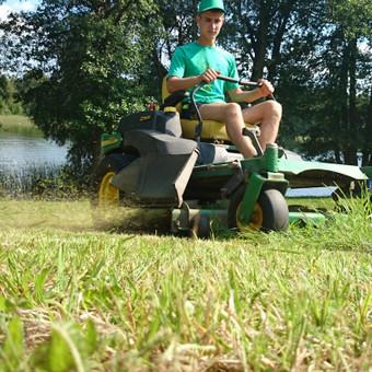 Atliekame vejos pjovimo, įrengimo darbus / Marius / Darbų pavyzdys ID 14448