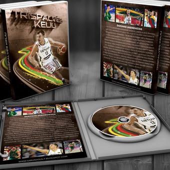 DVD kompakto maketas dokumentiniam Šarūno Jasikevičiaus filmui, kurį sukūrė didžiulis jo gerbėjas.