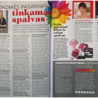"""Stiliaus patarimai žurnale """"Edita"""""""