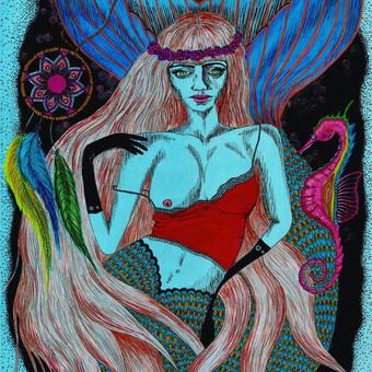 """Hippy Mermaid"""