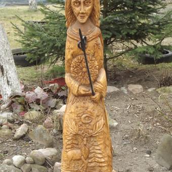 skulptūra žiema