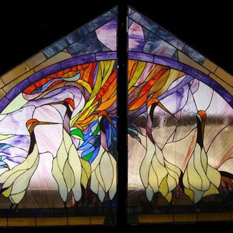 Vitražai, stiklo interjero detalės / Lolita Sadauskaite / Darbų pavyzdys ID 16556