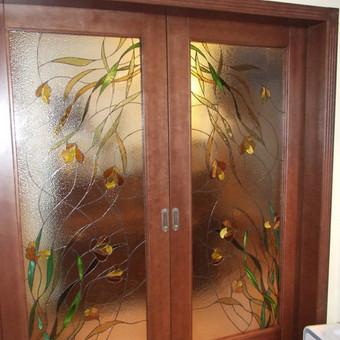 Vitražai, stiklo interjero detalės / Lolita Sadauskaite / Darbų pavyzdys ID 16558
