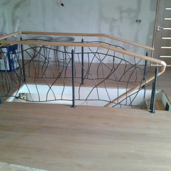 Laiptai, tureklai ir kiti metalo gaminiai. / Andrius Plunge / Darbų pavyzdys ID 17252