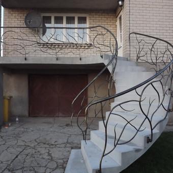 Laiptai, tureklai ir kiti metalo gaminiai. / Andrius Plunge / Darbų pavyzdys ID 17254
