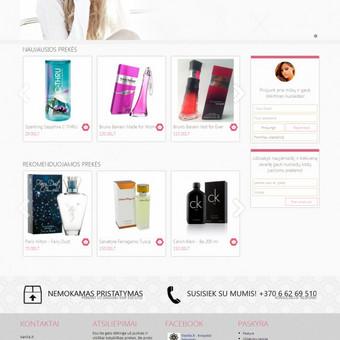 Sukurta internetinė parduotuvė vanila.lt