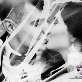 Vestuvių fotografavimas Vilniuje, aukštaitijoje / Donata Vitkienė / Darbų pavyzdys ID 19953