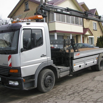 Techninė pagalba, krovinių gabenimas, manipuliatoriaus paslaugos