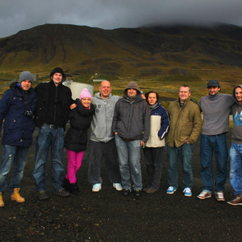 Kelionių organizavimas į Islandiją (vasarą ir per naujuosius metus). (nuotraukoje: G&G Sindikatas ir draugai)