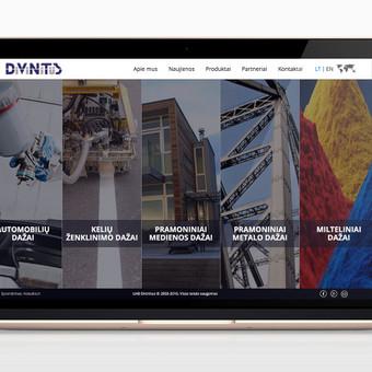 Interneto svetainė su individualia turinio valdymo sistema ir prekių katalogu. www.divinitus.lt