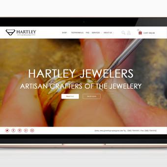 Hartley Jewelers el. parduotuvė: www.hartleyjewelers.com