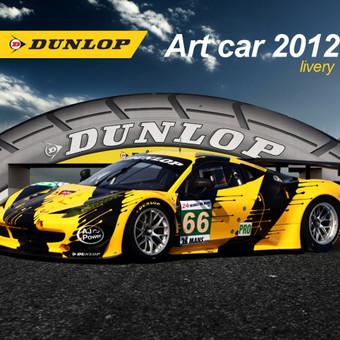 https://www.behance.net/gallery/16787381/Dunlop-Art-Car-2012