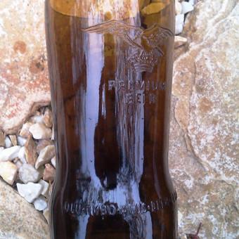 Originalios interjero detalės iš perpjautų stiklinių butelių / Romanas RAnamai / Darbų pavyzdys ID 24181