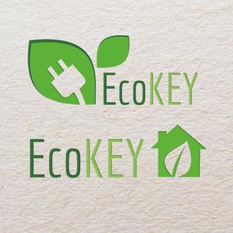EcoKEY logo dizainas