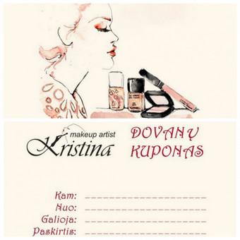 Kristina Make Up Artist makiažas.