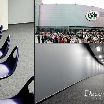 """Cido arena - UAB """"Panevėžio arena""""."""