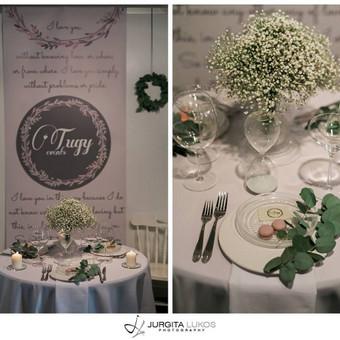 Vestuvių, švenčių dekoravimas / Miglė Či / Darbų pavyzdys ID 30447