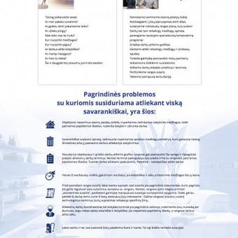 Statybos ir apdailos darbų plano sudarymas