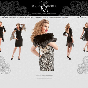 Prašmatnių rūbų dizainerė