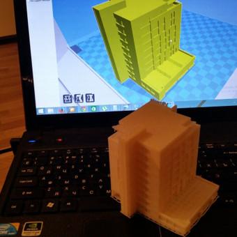 3D Spausdinimas / Viktoras / Darbų pavyzdys ID 34594