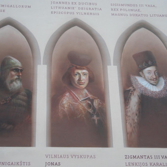 Delfi perskaičiau kultūrologų komentarus apie šią mano atliktą freską. Jie pripažino, kad tai pirmoji ir vienintelė istorine fasado freska visame Pabaltyje!