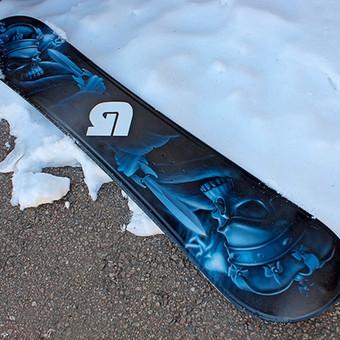 Aerografija ant snieglentės