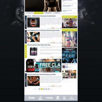 Web dizainas http://hantelis.com