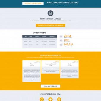 Web dizainas https://speechtotextservice.com