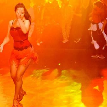 """Kalėdinis""""Flash Dance"""" vakarėlio show šokis"""