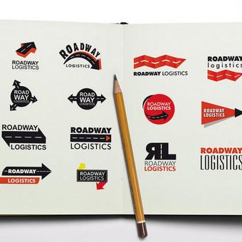 Logistikos paslaugos. Prekės ženklo sukūrimas, Logotipo sukūrimas, firminio stiliaus kūrimas.