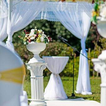Vestuvinis floristinis dekoravimas / Isdeco / Darbų pavyzdys ID 41391