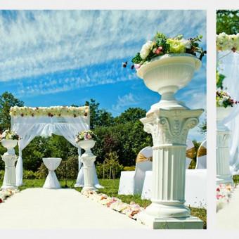 Vestuvinis floristinis dekoravimas / Isdeco / Darbų pavyzdys ID 41393