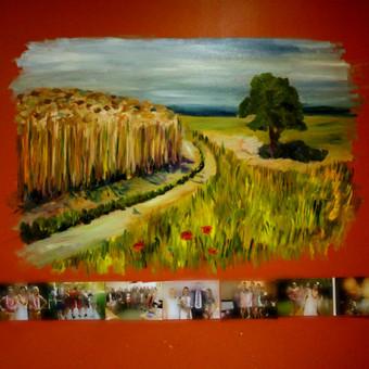 tapyba ant sienos