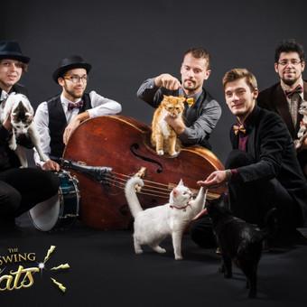 The Swing Cats / Roman Gorodeckij / Darbų pavyzdys ID 42008