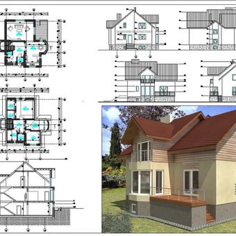 Architektė Vilniuje / Milda Stalioriūtė / Darbų pavyzdys ID 42505