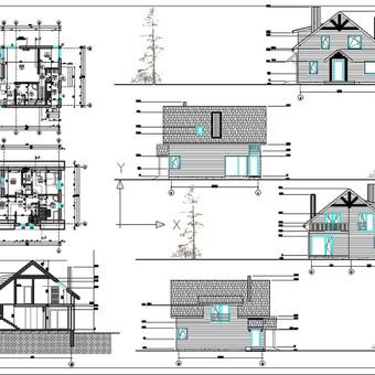 Architektė Vilniuje / Milda Stalioriūtė / Darbų pavyzdys ID 42507