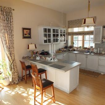 Projektuojame ir įrengiame įvairių tipų virtuvės baldus, į juos įmontuojant visą buitinę techniką.
